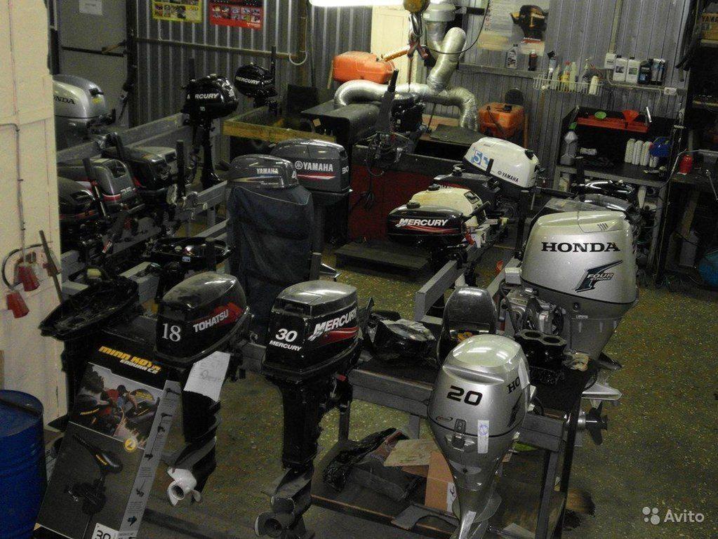 запчасти импортных лодочных моторов
