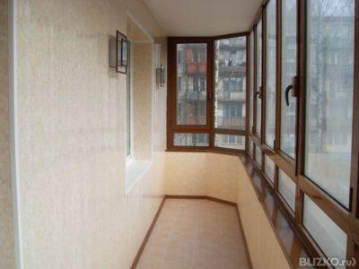 Ремонт балконов от компании быт-сервис купить в городе тюмен.