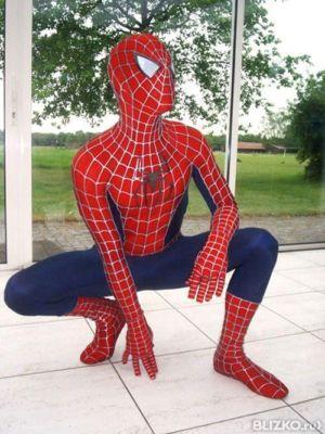 Как сшить костюм человек паук 610