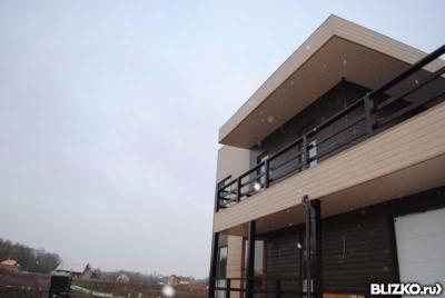 Облицовка фасада профлистом с утеплением