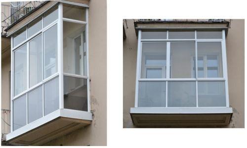 Остекление балкона от пола до потолка в красноярске - на пор.