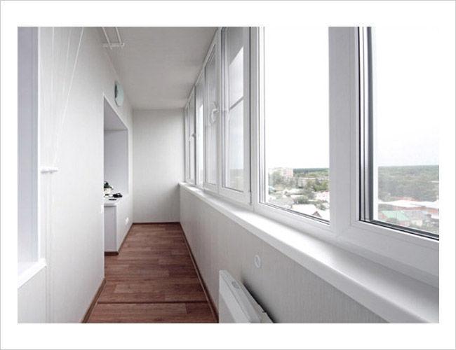 Теплого остекления балкона балкон п 111м остекление
